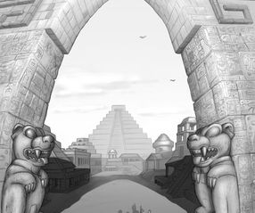 Tommy Turner discovers the Maya city